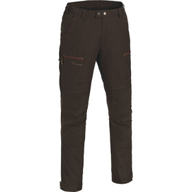 Pinewood Caribou TC Pants Herr suede brown/dark copper